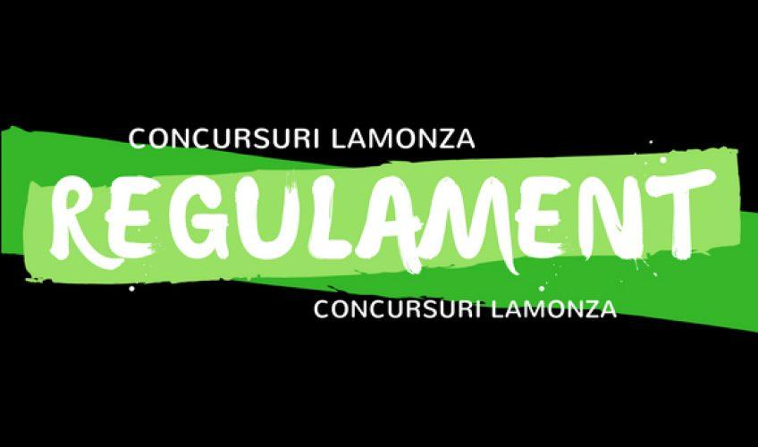Regulament concursuri LAMONZA