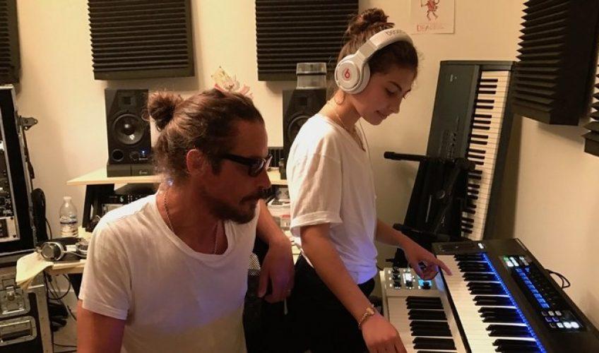 Fiica lui Chris Cornell a lansat un nou cântec înregistrat împreună cu tatăl său