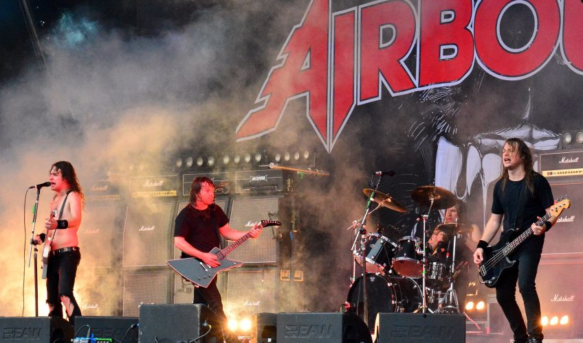 Airbourne lansează mâine al cincilea album de studio
