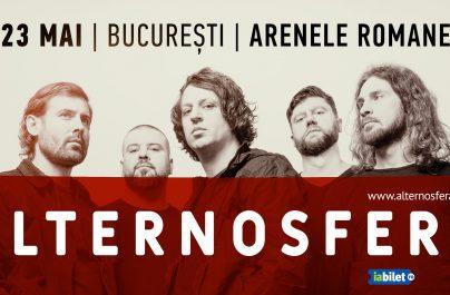 Alternosfera revine cu un concert la Arenele Romane