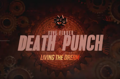 "Five Finger Death Punch a lansat videoclipul liric la piesa ""Living the Dream"""