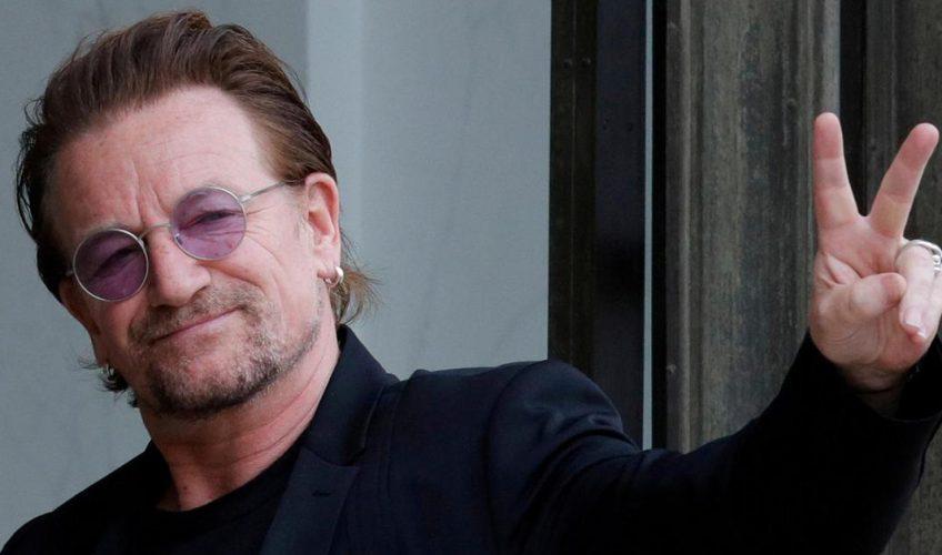 (VIDEO) Bono a scris o baladă pentru italieni