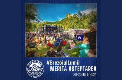 Open Air Blues Festival Brezoi – Vâlcea se amână