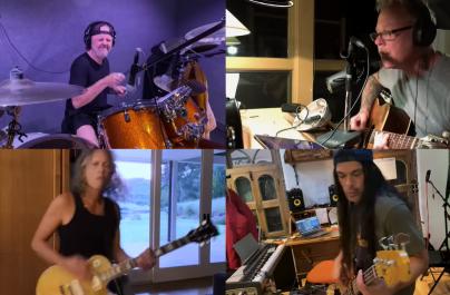 Vezi noua versiune a piesei Blakened, cântată de Metallica în izolare