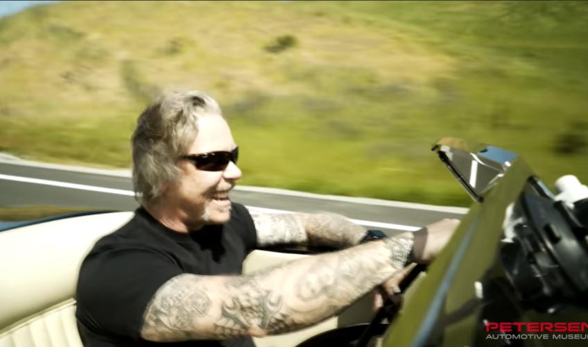 (VIDEO) Turul virtual al mașinilor lui James Hetfield