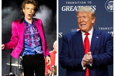 The Rolling Stones îl amenință pe Trump că-l dă în judecată