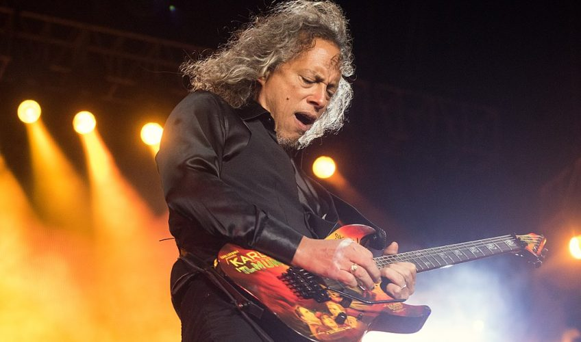 """Kirk Hammett: """"Stăteam pe WC când am primit un telefon ca să cânt în Metallica"""""""