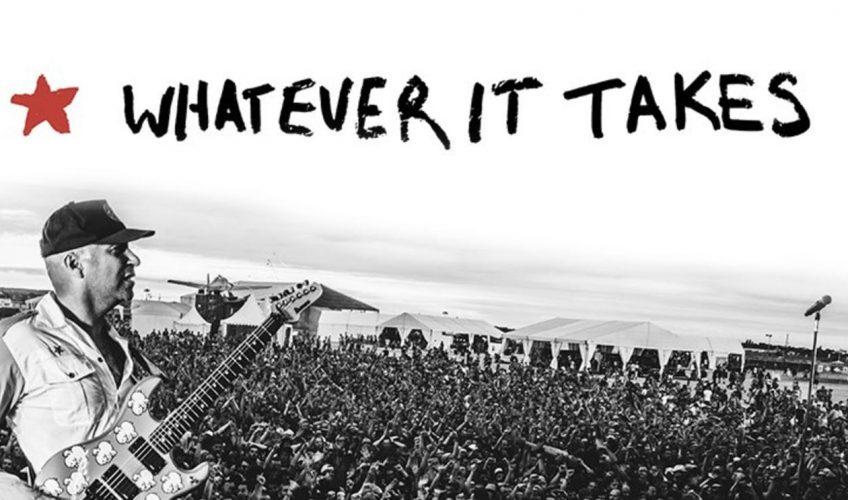 "Tom Morello anunță cartea ""Whatever It Takes"""
