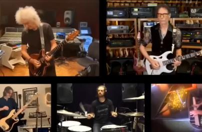 """(VIDEO) Interpretare de excepție a piesei """"Bohemian Rhapsody"""" cu Brian May și alți chitariști celebri"""
