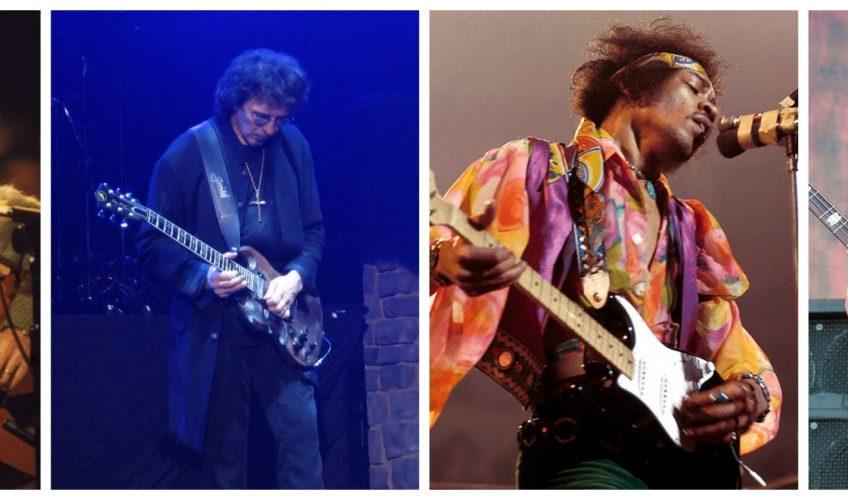 (FOTO) Cei mai uimitori 13 chitariști stângaci