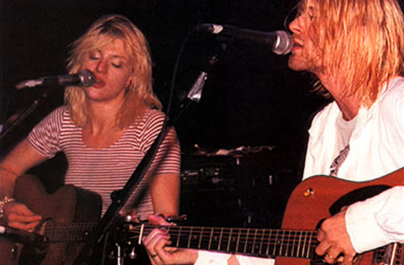 Ascultă un duet unic Kurt Cobain-Courtney Love