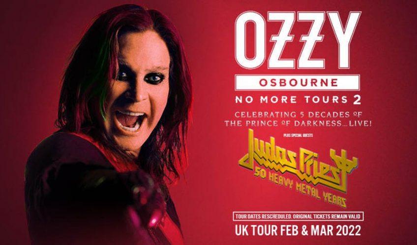 """Turneul european """"No More Tour II"""" al lui Ozzy Osbourne, reprogramat oficial în 2022"""