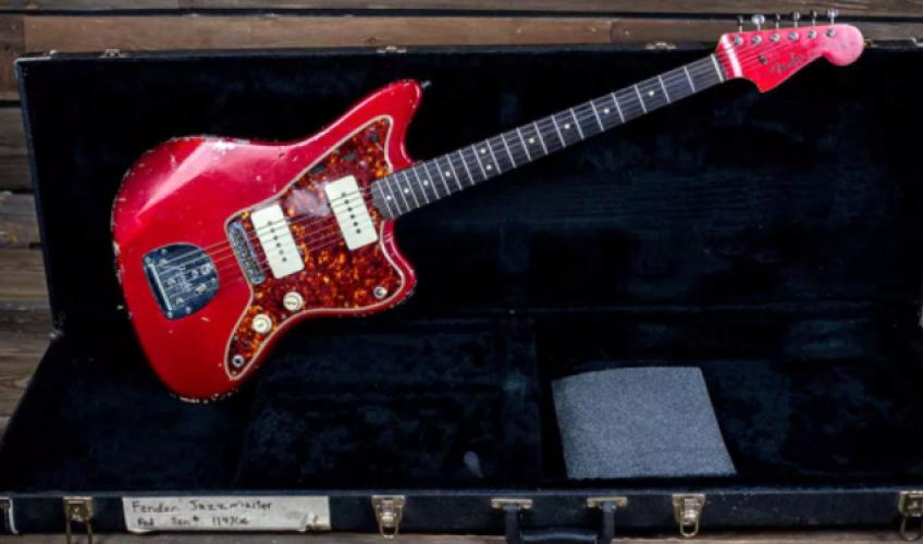 """Chitara cu care Chris Cornell a cântat pe """"Superunknown"""", scoasă la licitație"""
