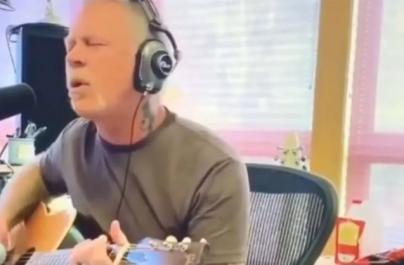 """Urmărește-l pe James Hetfield cântând un cover după """"Turn the Page"""" a lui Bob Seger"""