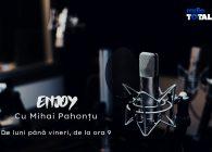 ENJOY cu Mihai Pahonțu – invitat Andy Ionescu de la trupa Taine