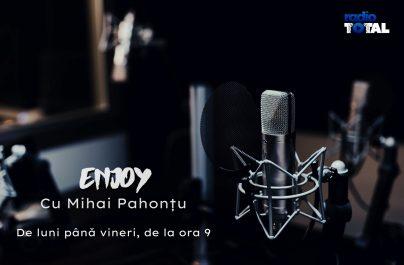 """""""Enjoy"""" cu Mihai Pahonțu. Invitat: Ciprian Burcovschi (AdLittera)"""