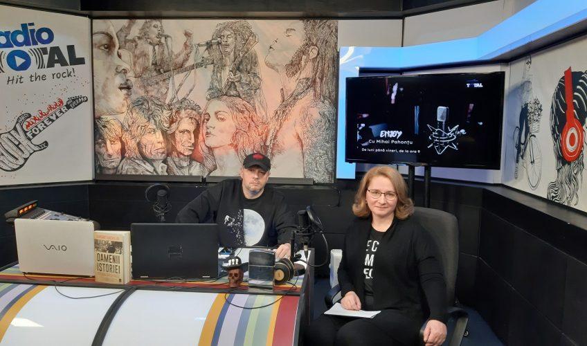 """""""Enjoy"""" cu Mihai Pahonțu. Invitată: Virginia Lupulescu, coordonator editorial Grupul Editorial Trei"""