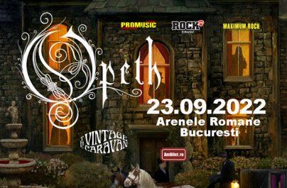 Concertul Opeth de la București s-a amânat pentru 2022