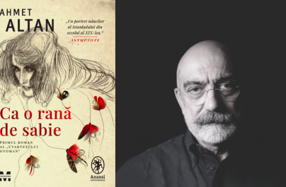 """Primul volum al Cvartetului Otoman, romanul """"Ca o rană de sabie"""" de Ahmet Altan"""